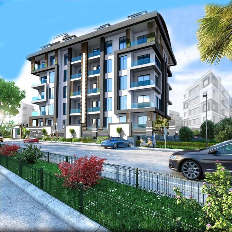 Строящийся жилой комплекс в Алании рядом с центром - Фото 3