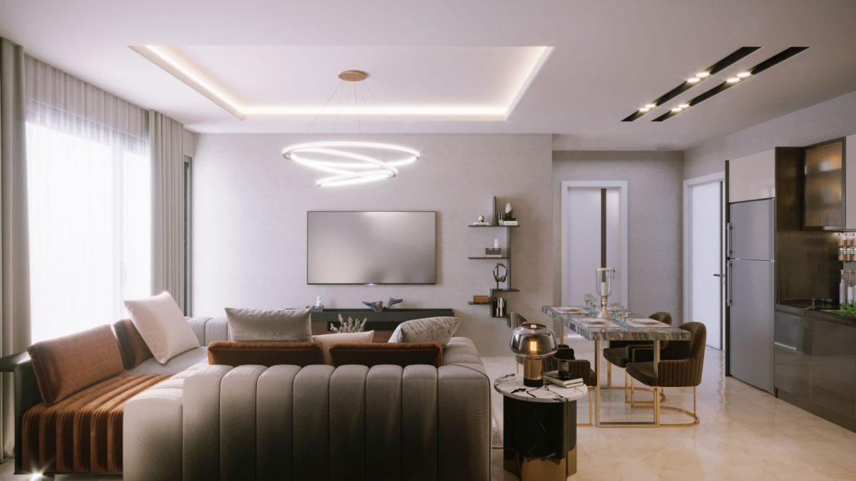 Новые апартаменты по ценам от застройщика в Авсалларе - Фото 28