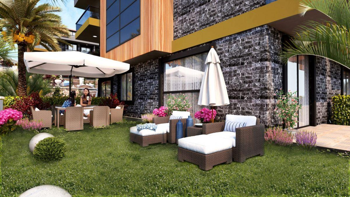 Новый красивый малоэтажный комплекс с видом на всю Аланию - Фото 18