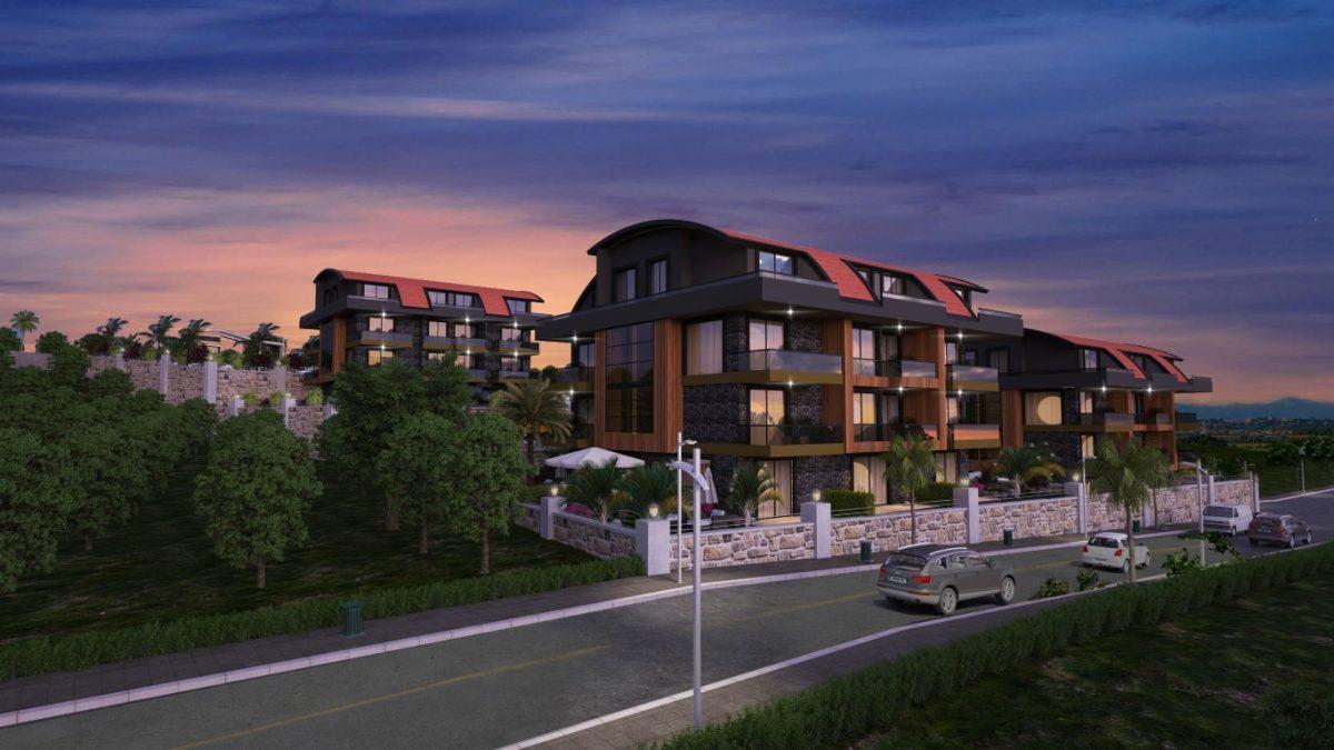 Новый красивый малоэтажный комплекс с видом на всю Аланию - Фото 4