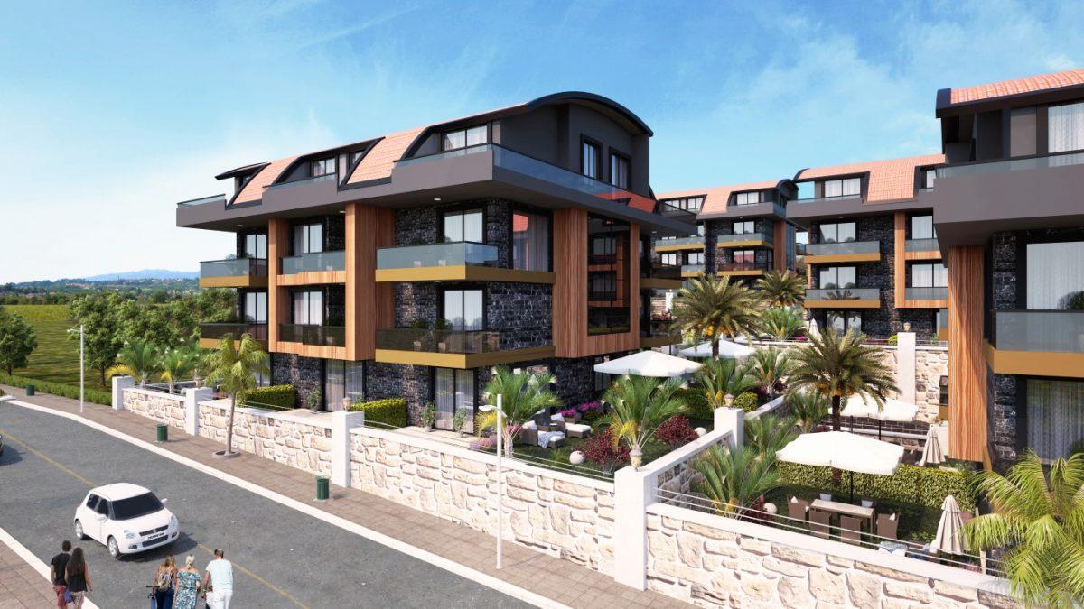 Новый красивый малоэтажный комплекс с видом на всю Аланию - Фото 2