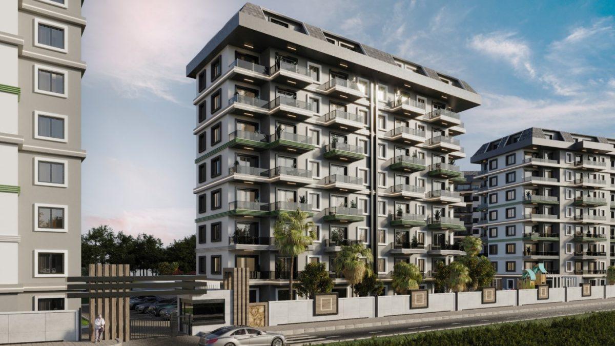 Новый комплекс с отельной инфраструктурой и видом на море в Авсалларе - Фото 10