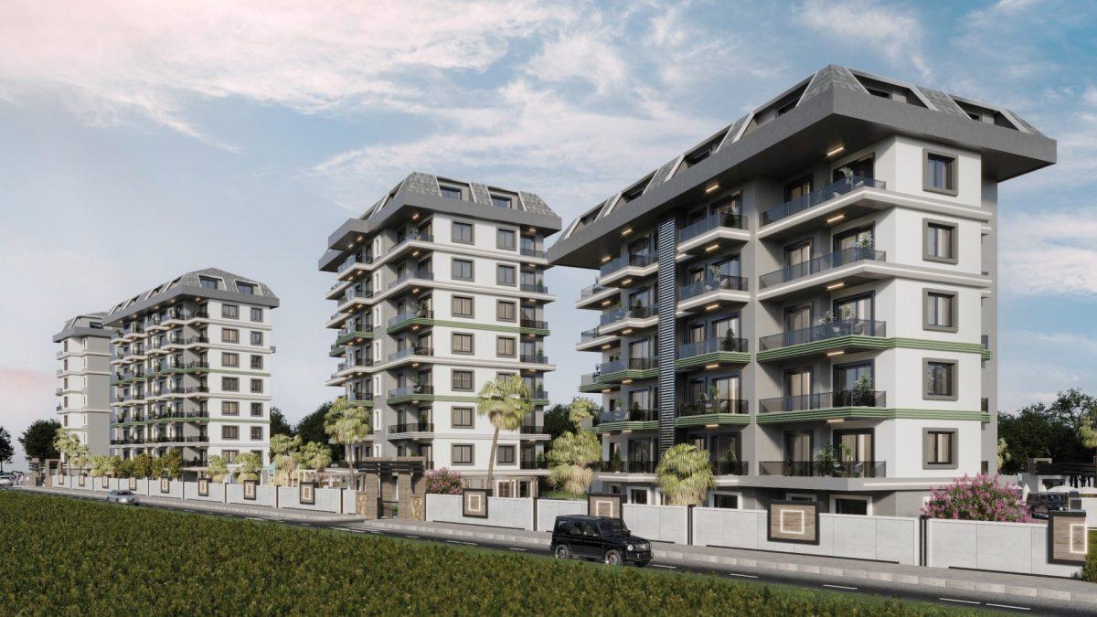 Новый комплекс с отельной инфраструктурой и видом на море в Авсалларе - Фото 9