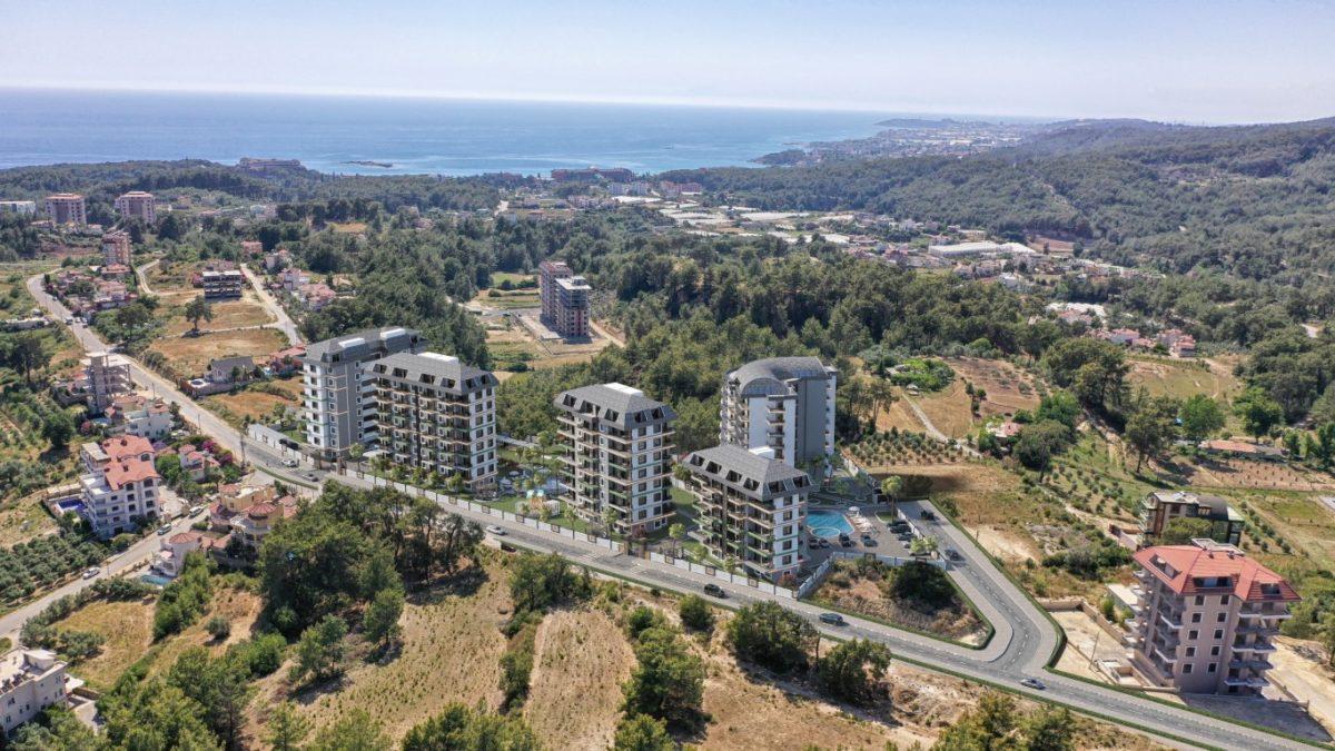 Новый комплекс с отельной инфраструктурой и видом на море в Авсалларе - Фото 19