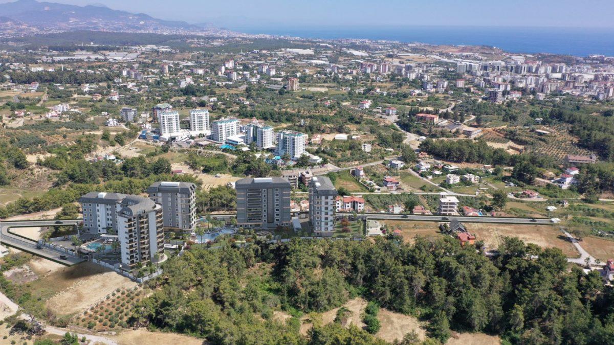 Новый комплекс с отельной инфраструктурой и видом на море в Авсалларе - Фото 20