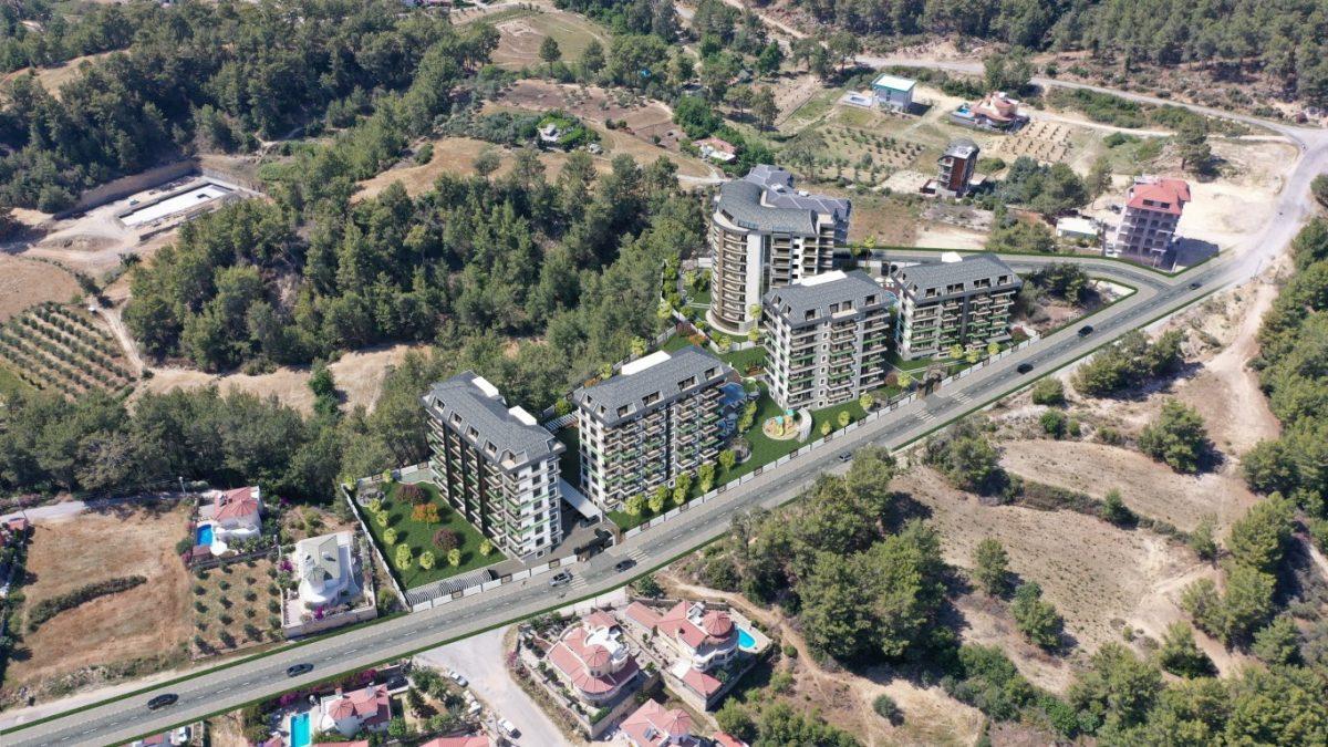 Новый комплекс с отельной инфраструктурой и видом на море в Авсалларе - Фото 21