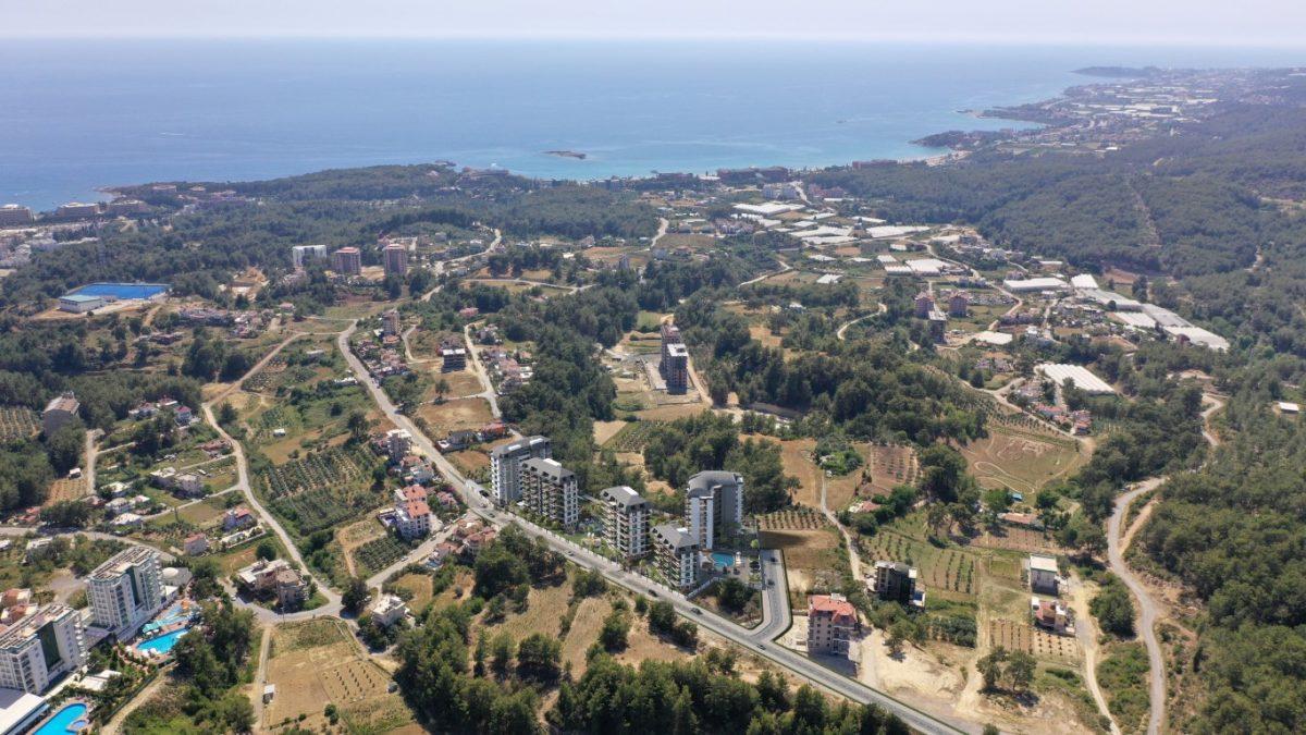 Новый комплекс с отельной инфраструктурой и видом на море в Авсалларе - Фото 22