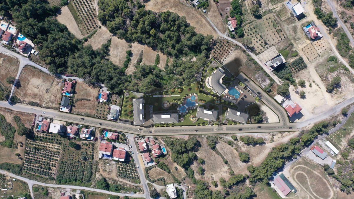 Новый комплекс с отельной инфраструктурой и видом на море в Авсалларе - Фото 24