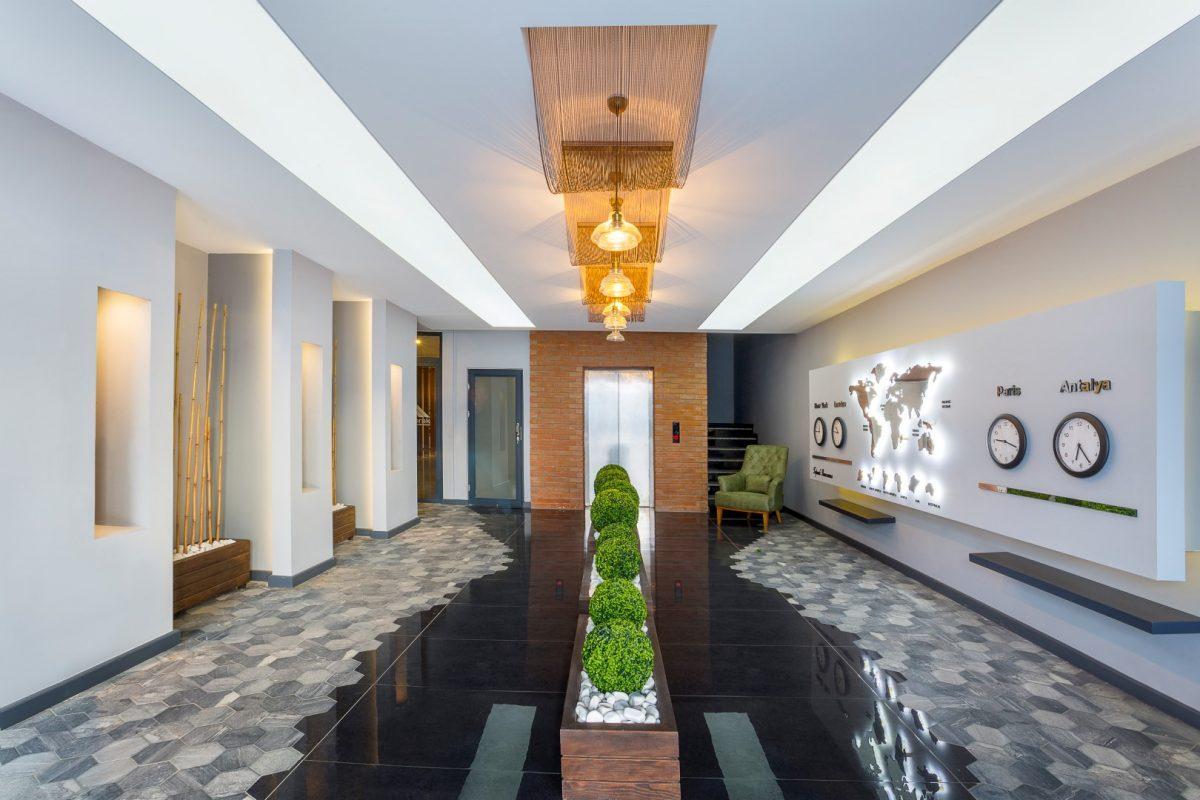 Меблированная квартира в комплексе с богатой инфраструктурой в Кыргыджак - Фото 4