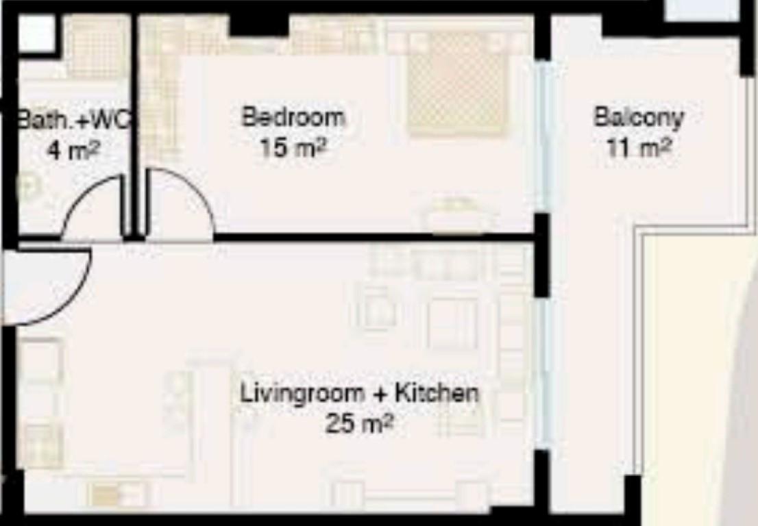 Меблированные апартаменты в центре Алании - Фото 21