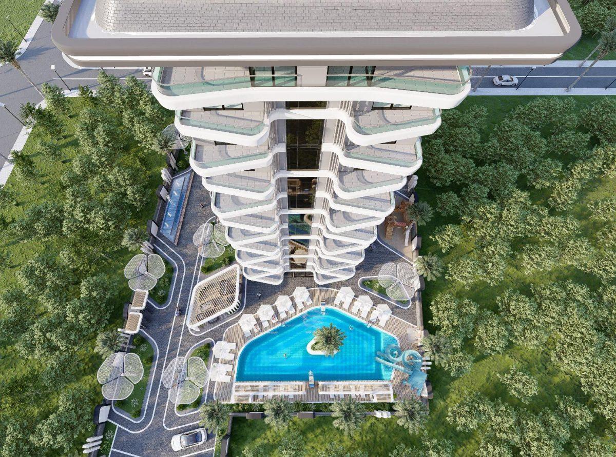 Инвестиционный проект на стадии строительства в районе Махмутлар - Фото 2