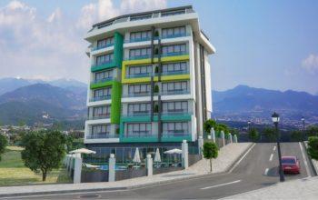 Новая квартира в готовом комплексе от известного застройщика в Авсалларе