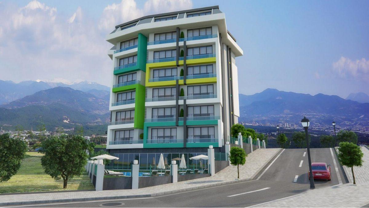 Новая квартира в готовом комплексе от известного застройщика в Авсалларе - Фото 1