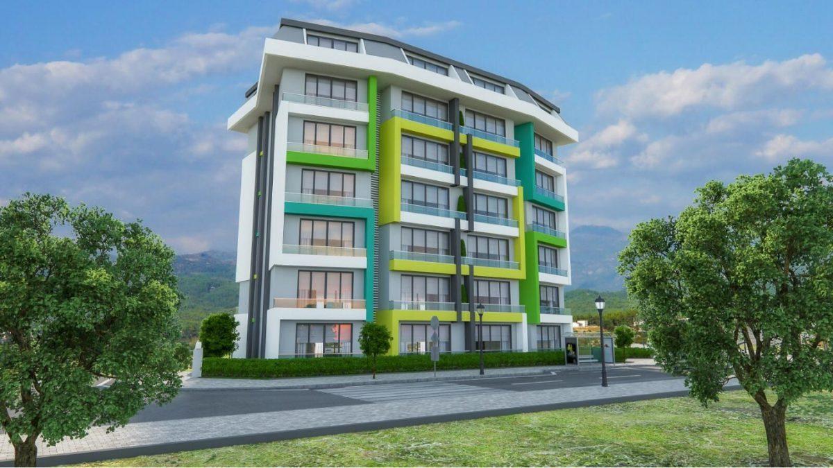 Новая квартира в готовом комплексе от известного застройщика в Авсалларе - Фото 2