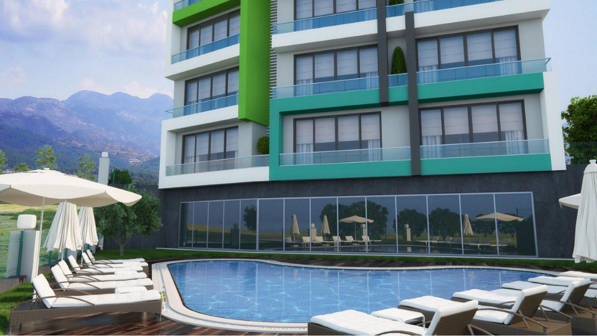 Новая квартира в готовом комплексе от известного застройщика в Авсалларе - Фото 3