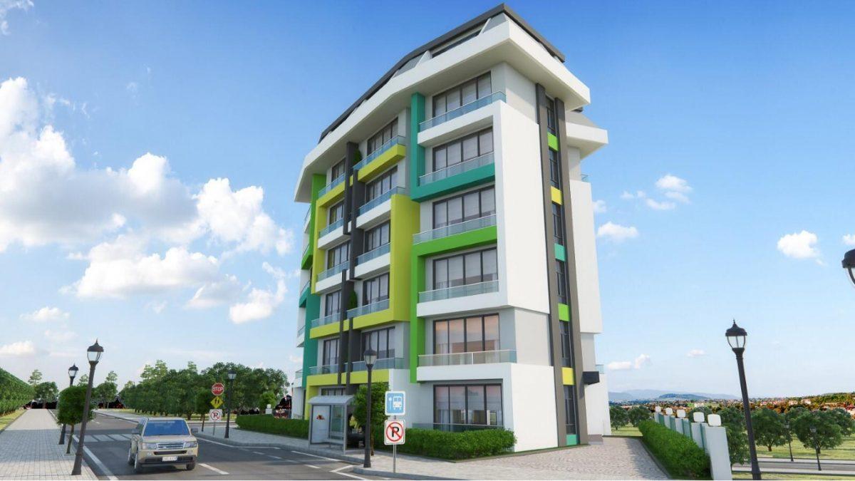 Новая квартира в готовом комплексе от известного застройщика в Авсалларе - Фото 6