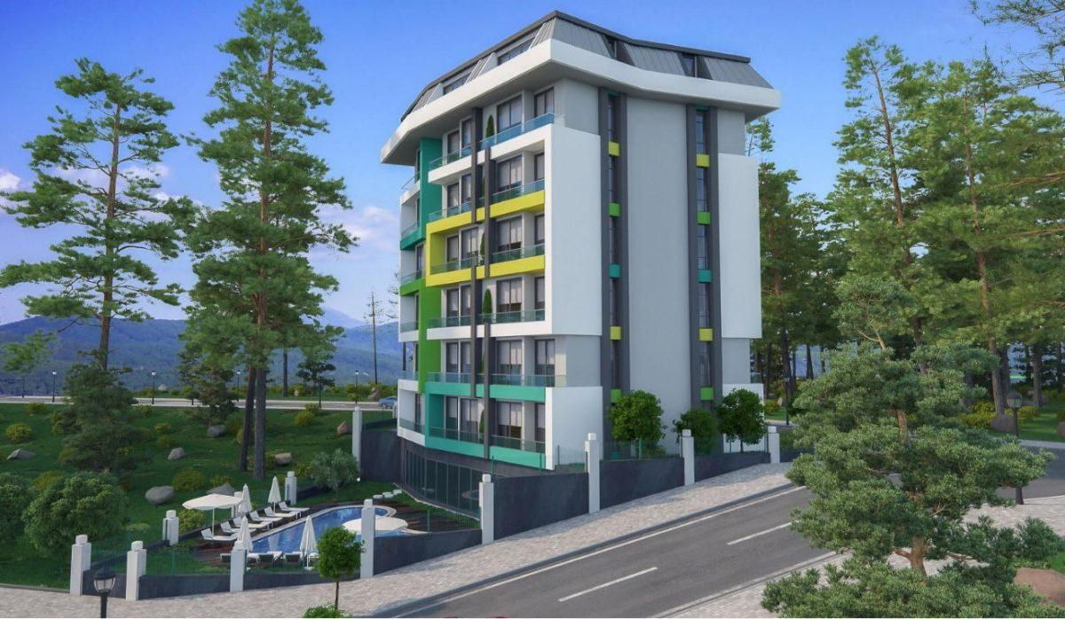 Новая квартира в готовом комплексе от известного застройщика в Авсалларе - Фото 4
