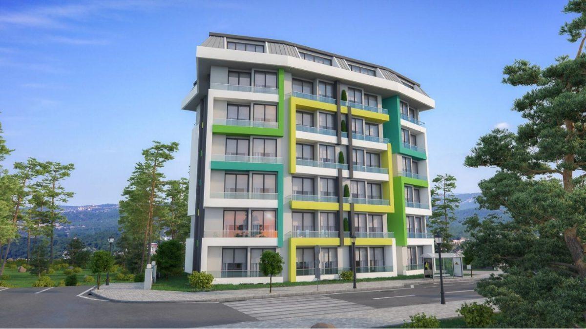 Новая квартира в готовом комплексе от известного застройщика в Авсалларе - Фото 5