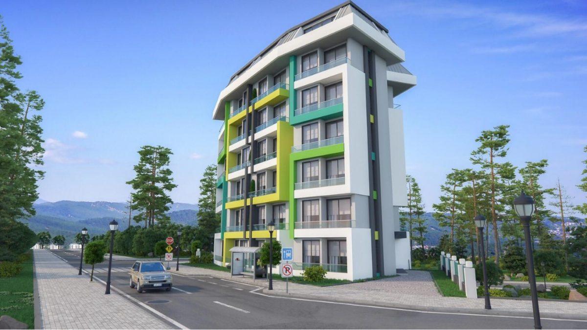 Новая квартира в готовом комплексе от известного застройщика в Авсалларе - Фото 7