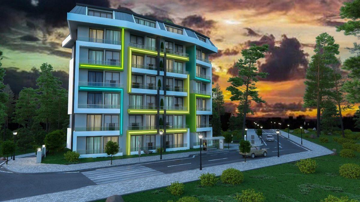 Новая квартира в готовом комплексе от известного застройщика в Авсалларе - Фото 8