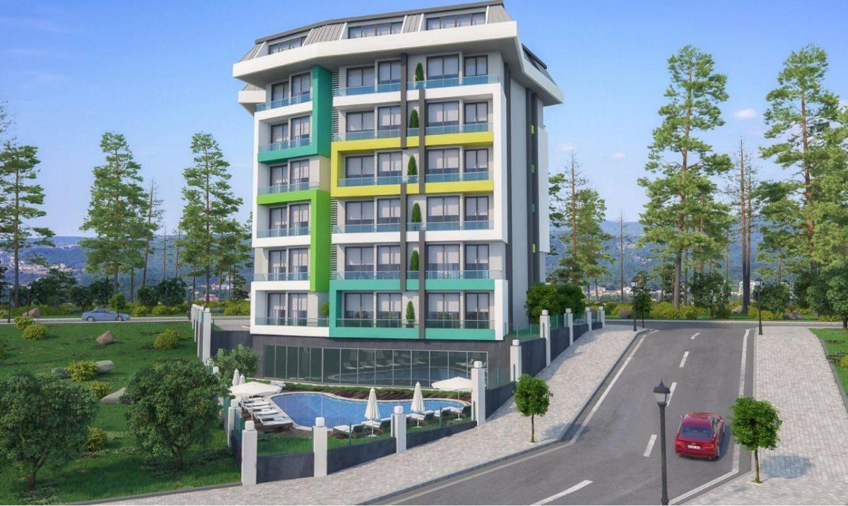Новая квартира в готовом комплексе от известного застройщика в Авсалларе - Фото 9