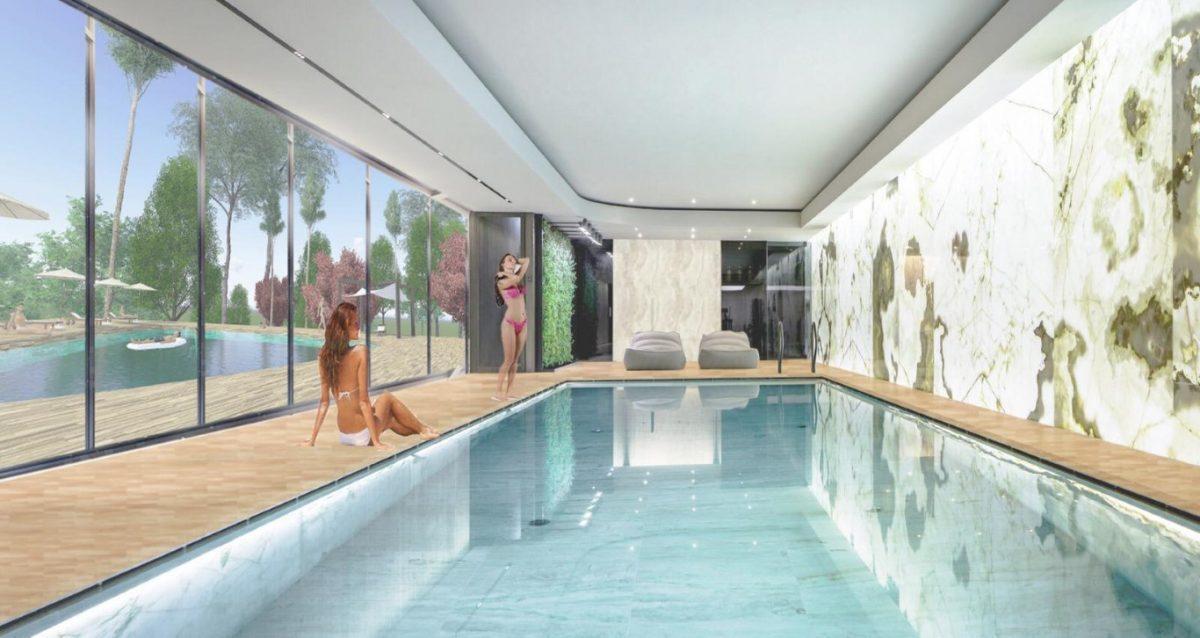 Новая квартира в готовом комплексе от известного застройщика в Авсалларе - Фото 21