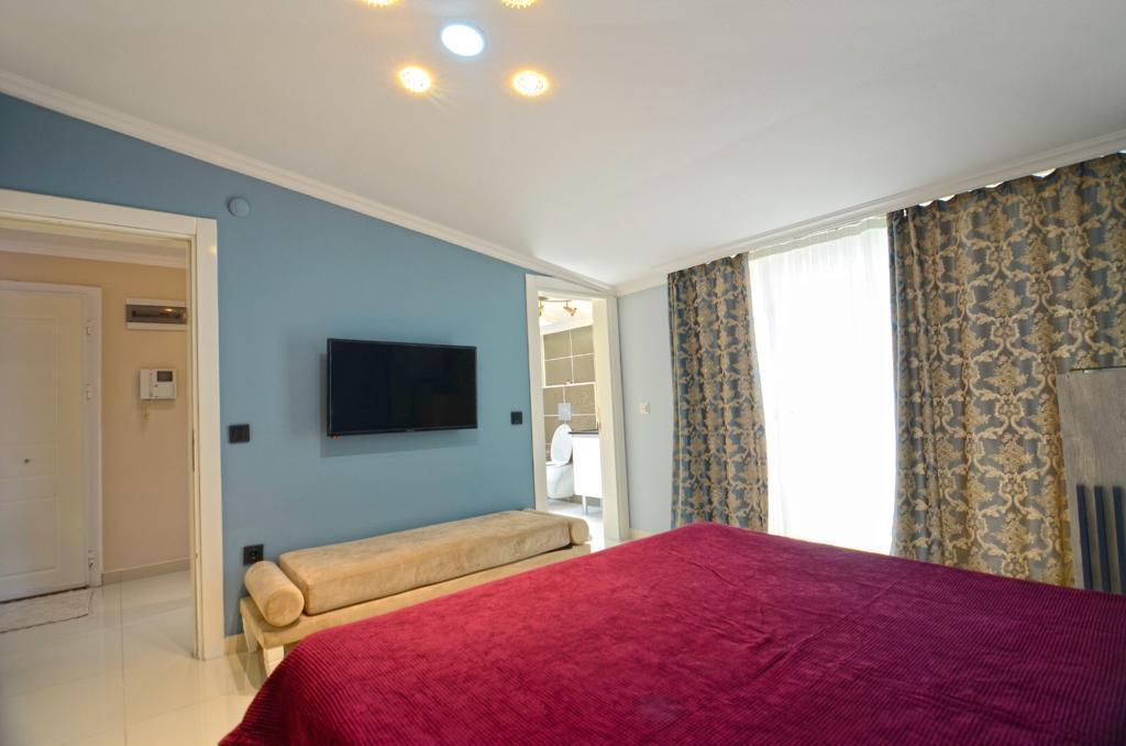 Просторная меблированная квартира с видом на море в Кестеле - Фото 21
