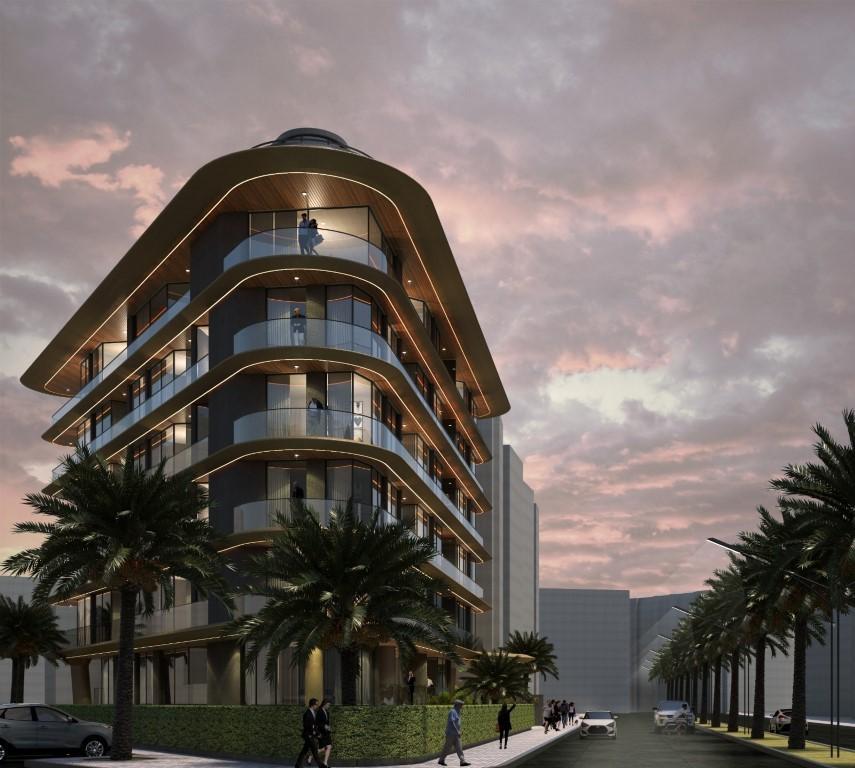 Квартиры в новом жилом комплексе в районе пляжа Клеопатры - Фото 3
