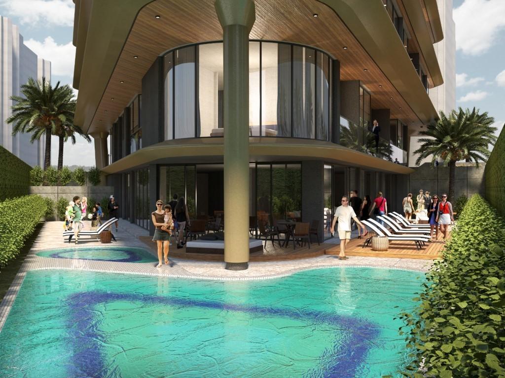 Квартиры в новом жилом комплексе в районе пляжа Клеопатры - Фото 4
