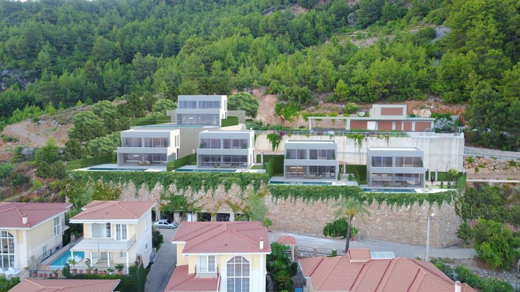 Проект вилл в центральной части Алании с панорамным видом - Фото 15