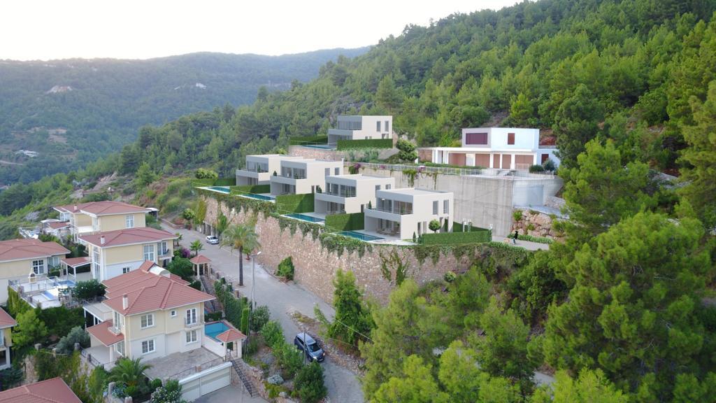 Проект вилл в центральной части Алании с панорамным видом - Фото 16