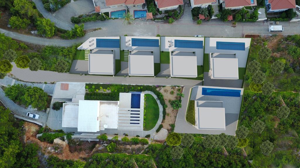 Проект вилл в центральной части Алании с панорамным видом - Фото 14