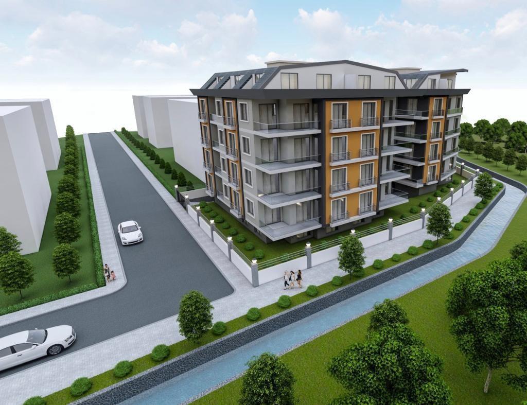 Новый комплекс в центре Алании рядом с морем - Фото 13