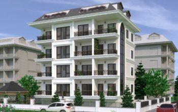 Новый комплекс городского типа в центре Алании