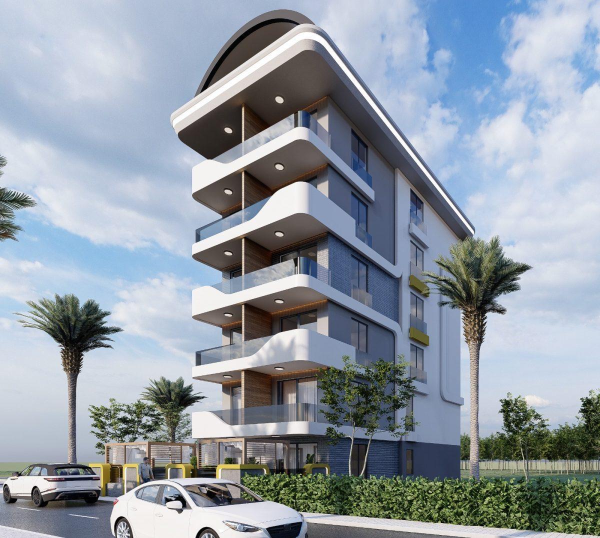 Апартаменты по выгодным ценам от застройщика в центре Алании близко к морю - Фото 3