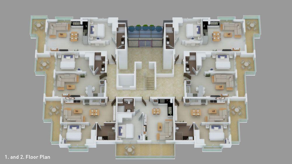 Меблированные апартаменты в центре Алании - Фото 20