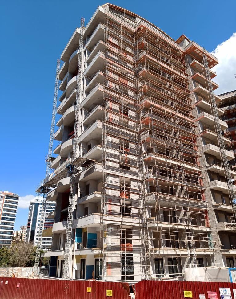 Апартаменты 1+1 в строящемся комплексе в Махмутларе - Фото 16