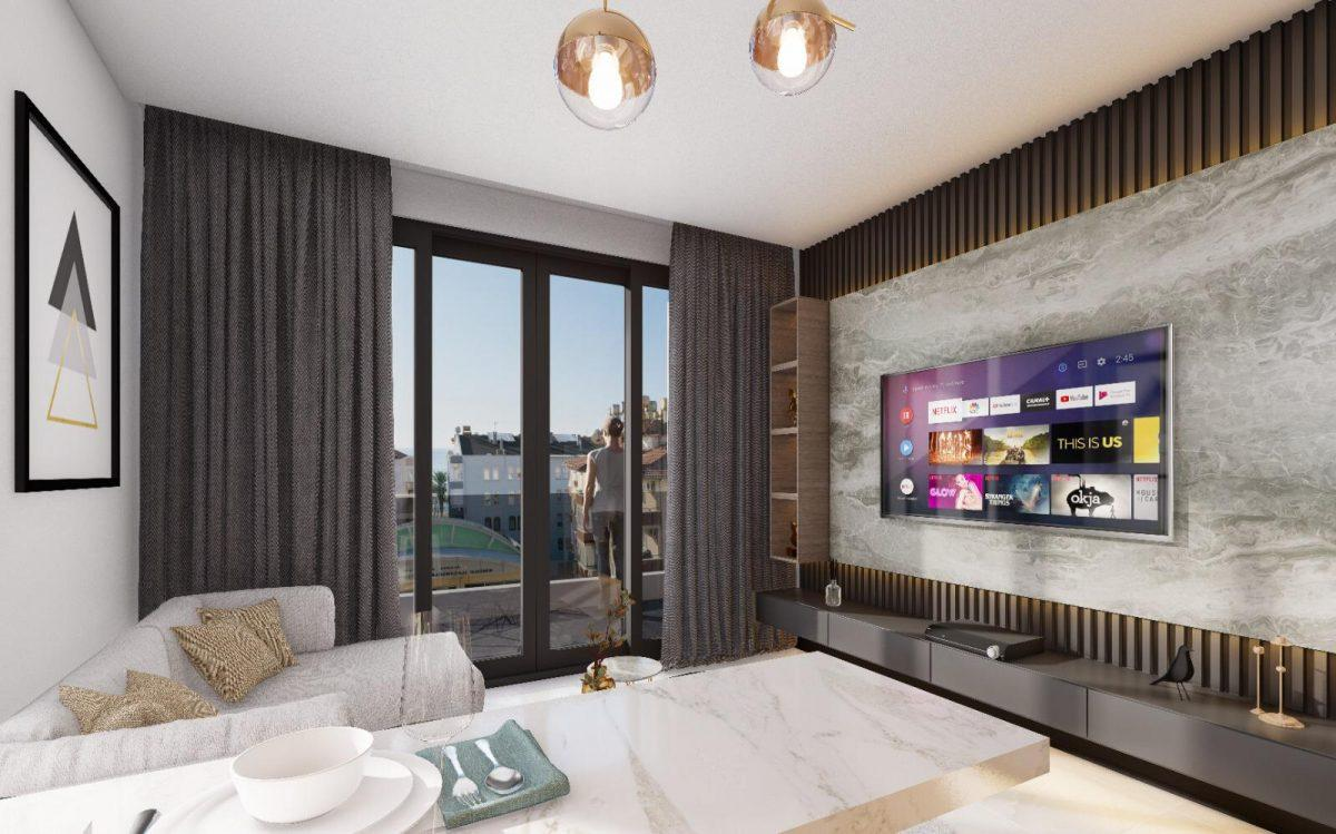 Апартаменты по выгодным ценам от застройщика в центре Алании близко к морю - Фото 9