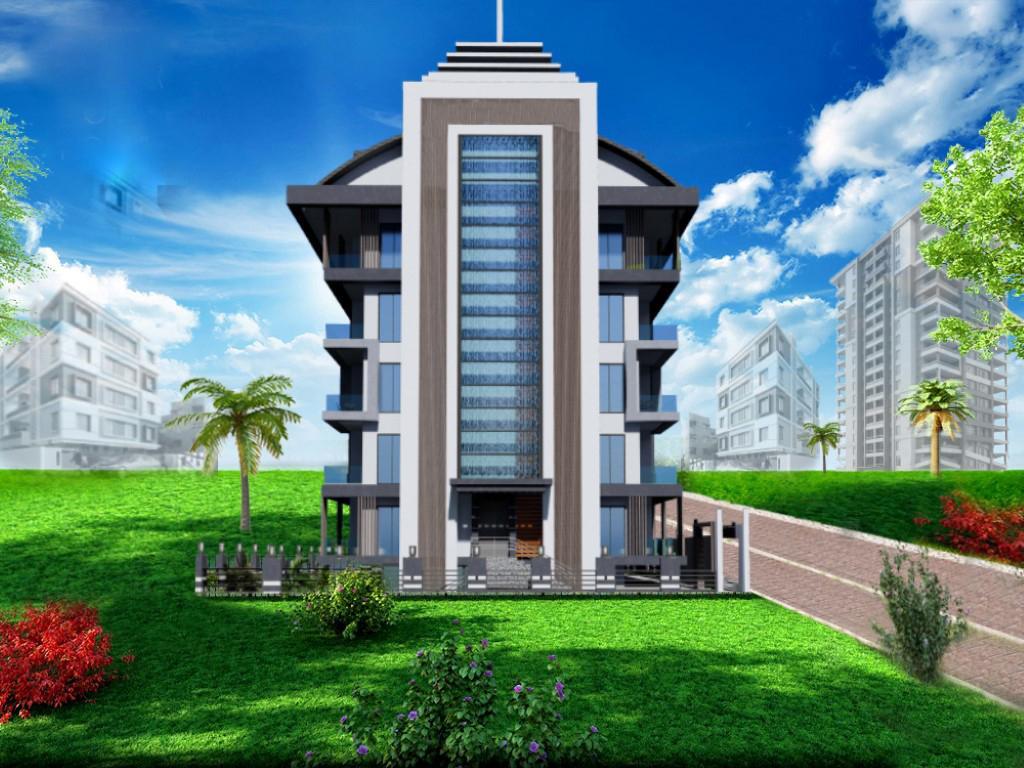 Строящийся жилой комплекс в Алании рядом с центром - Фото 5