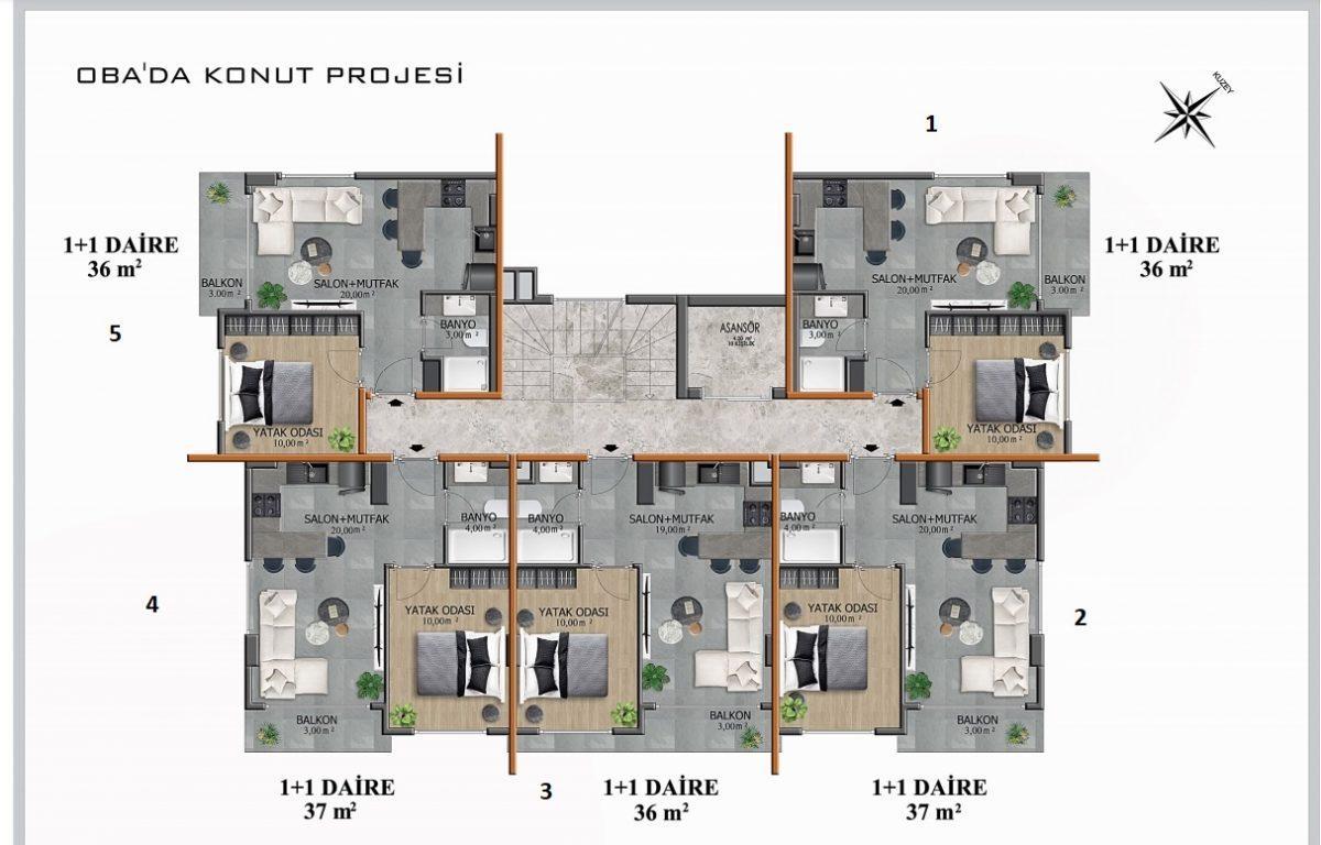 Новый бюджетный комплекс в европейском районе Оба - Фото 11