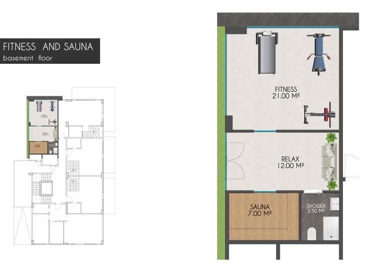 Новые квартиры на первой береговой линии в районе Кестель - Фото 24
