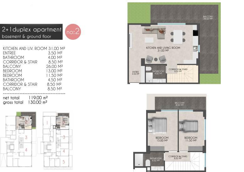 Новые квартиры на первой береговой линии в районе Кестель - Фото 12