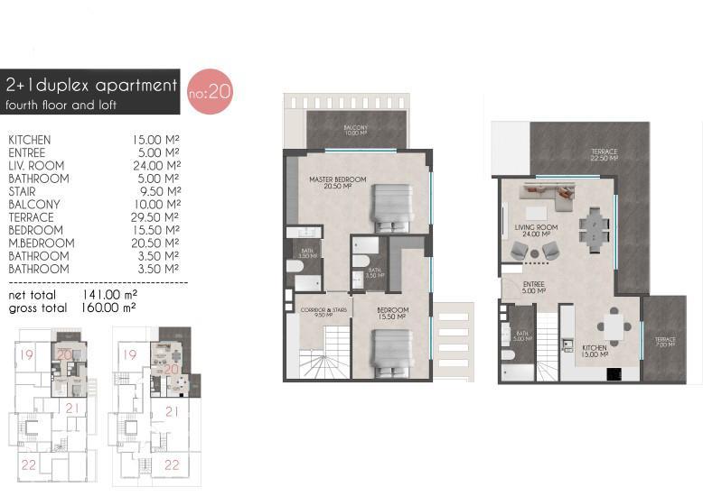 Новые квартиры на первой береговой линии в районе Кестель - Фото 22