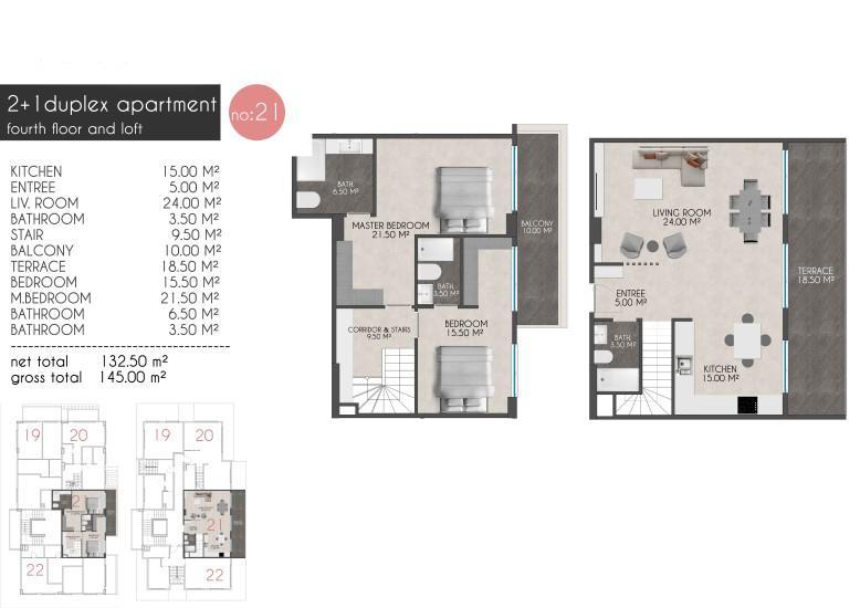 Новые квартиры на первой береговой линии в районе Кестель - Фото 23