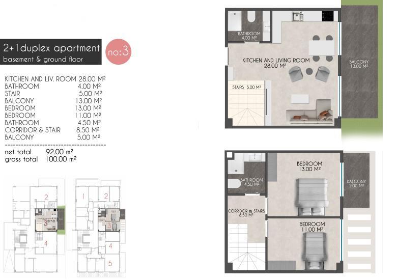 Новые квартиры на первой береговой линии в районе Кестель - Фото 13