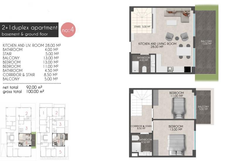 Новые квартиры на первой береговой линии в районе Кестель - Фото 14