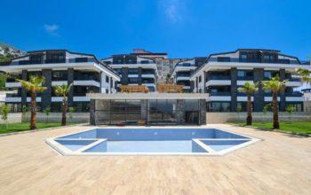 Новый малоэтажный жилой комплекс в районе Бекташ