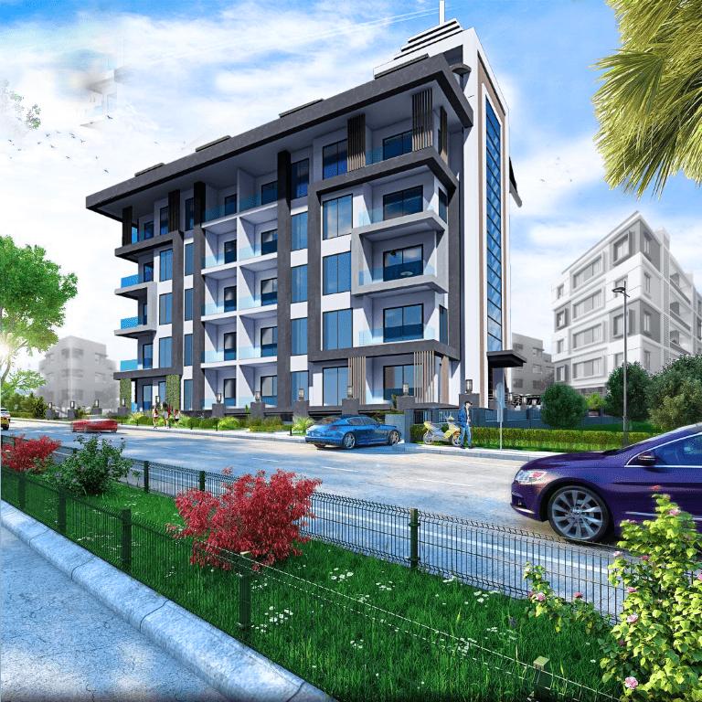 Строящийся жилой комплекс в Алании рядом с центром - Фото 4