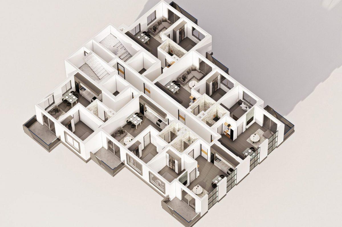Квартиры в современном комплексе в зеленом районе Махмутлара - Фото 22