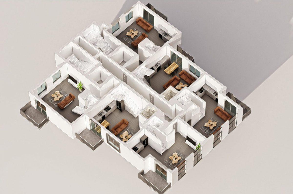Квартиры в современном комплексе в зеленом районе Махмутлара - Фото 24
